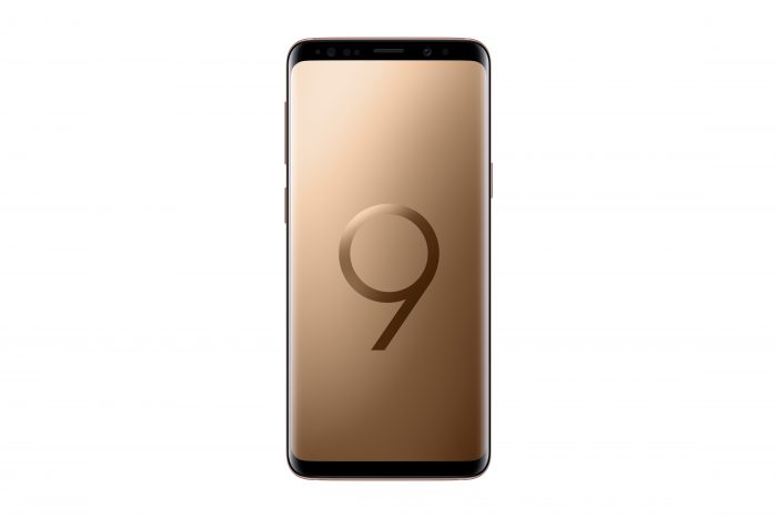 Galaxy S9 Sunrise Gold 1