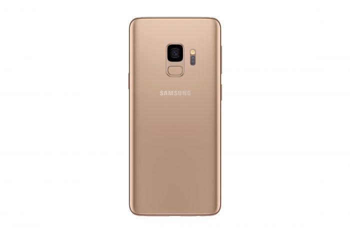 Galaxy S9 Sunrise Gold 4