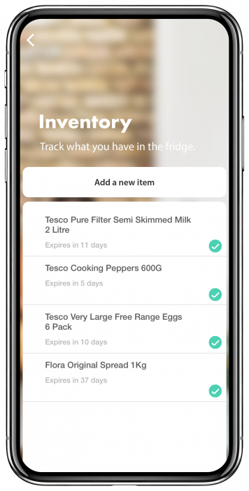 Phone inventory list