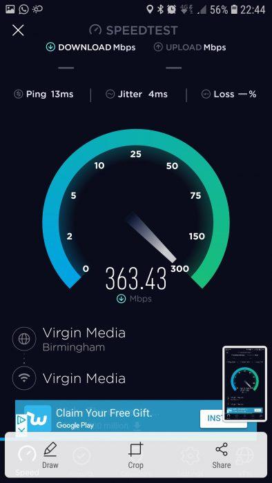 Screenshot 20180724 224439 Speedtest