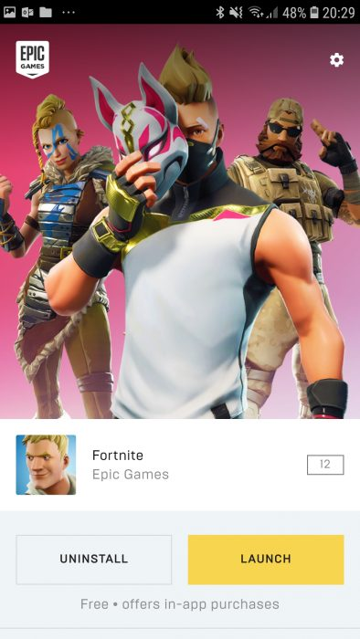 Screenshot 20180809 202913 Fortnite Installer