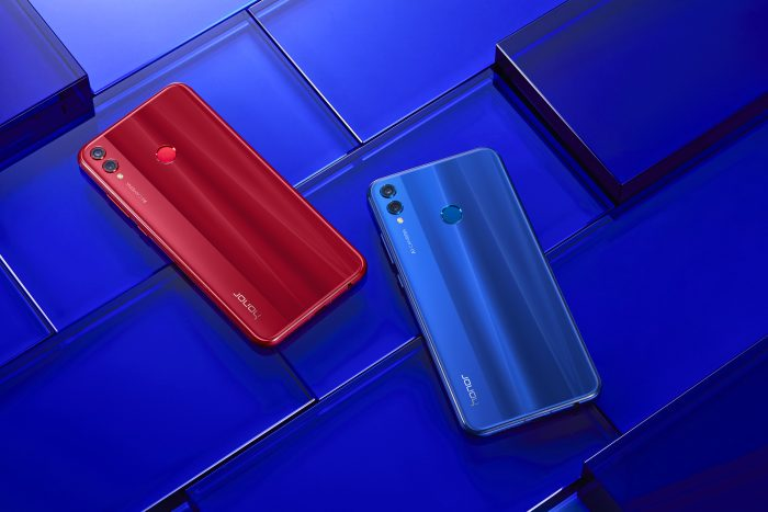 Johnson Honor 8x Blue Red4