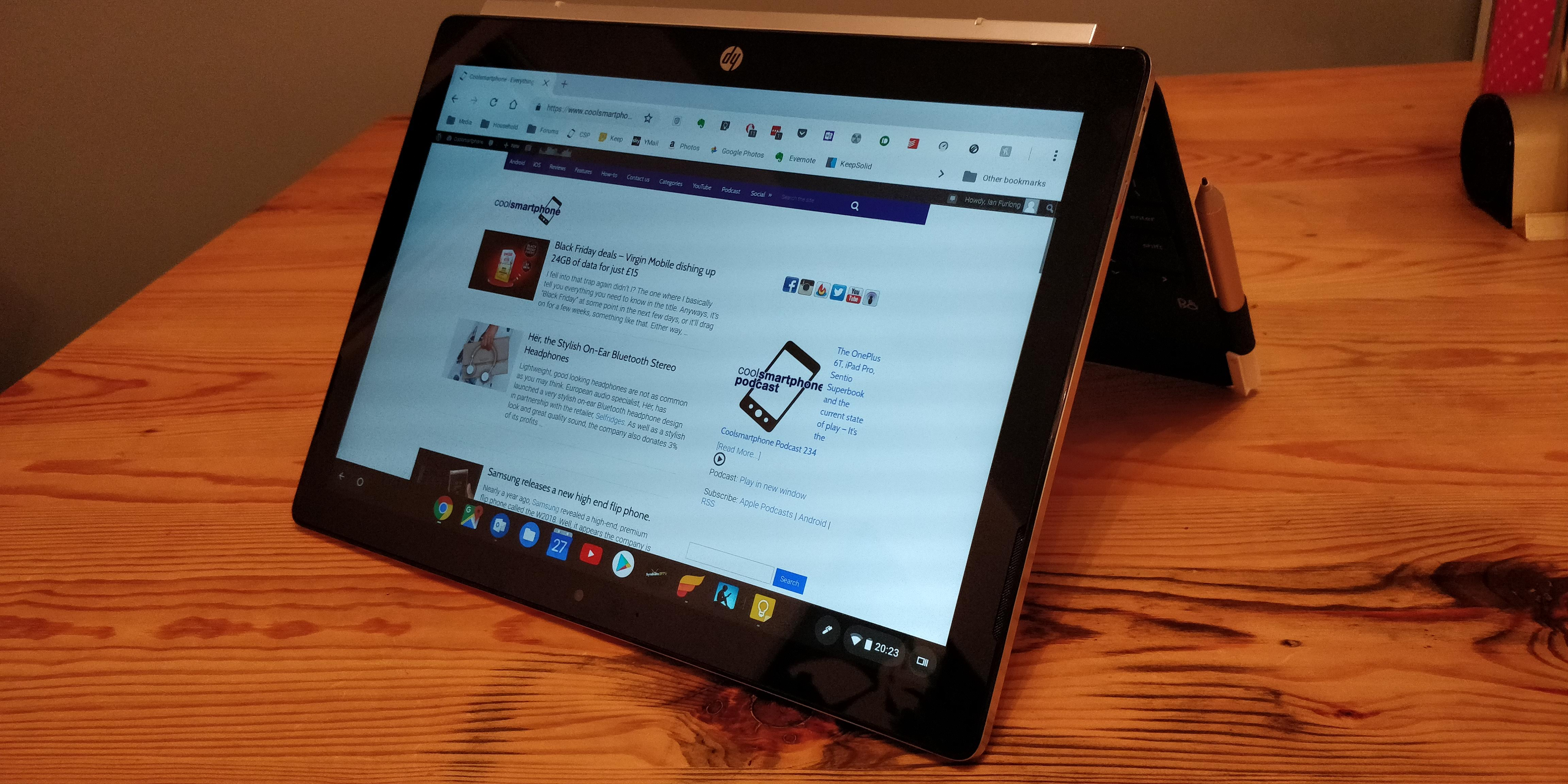 HP X2, 2 in 1 Chromebook   Review