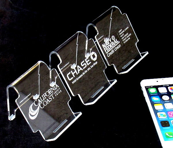 phone stand financial promo product