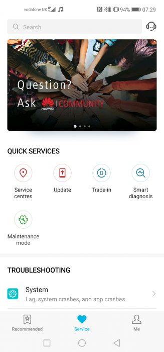 Screenshot 20190122 072927 com.huawei.phoneservice