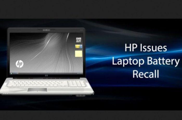 HP battery recall header
