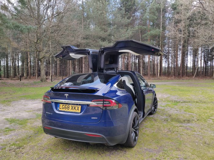 An afternoon with a Tesla Model X