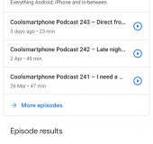 The Coolsmartphone Podcast   Now on Spotify too!
