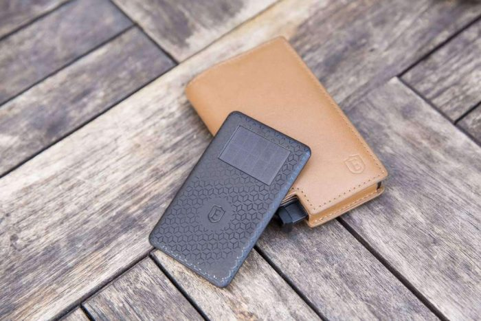 wallet on the deck