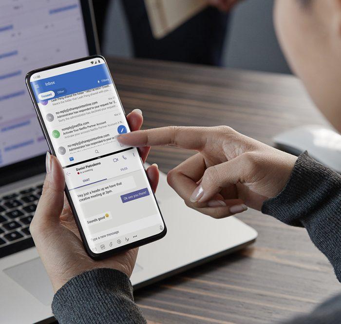 OnePlus 7 Pro MG Work SplitScreen