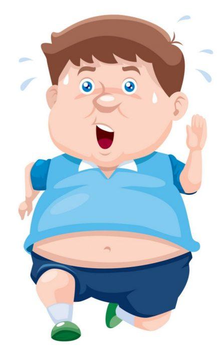 fat man vector 1288253 1