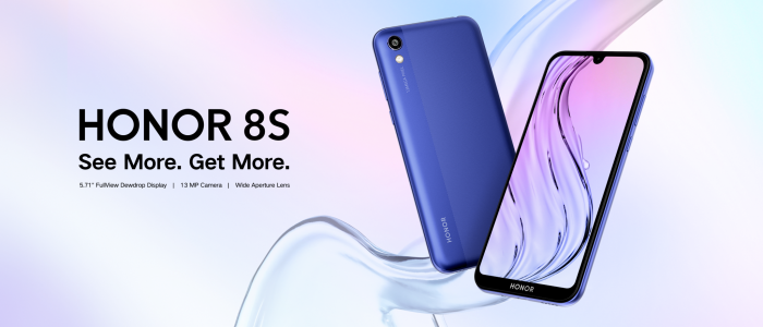 HONOR 8S Key Visual 2