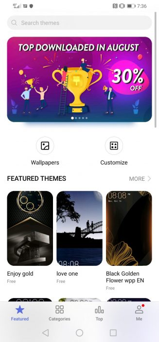 Screenshot 20190910 193654 com.huawei.android.thememanager