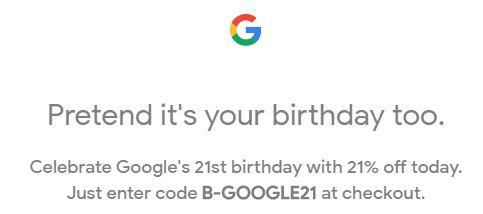 google brday