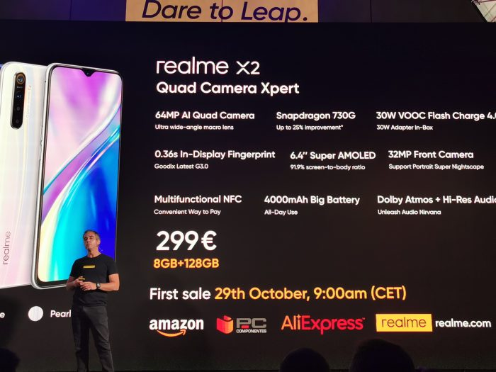 The Realme X2   Not the Pro, but still very good at this price.
