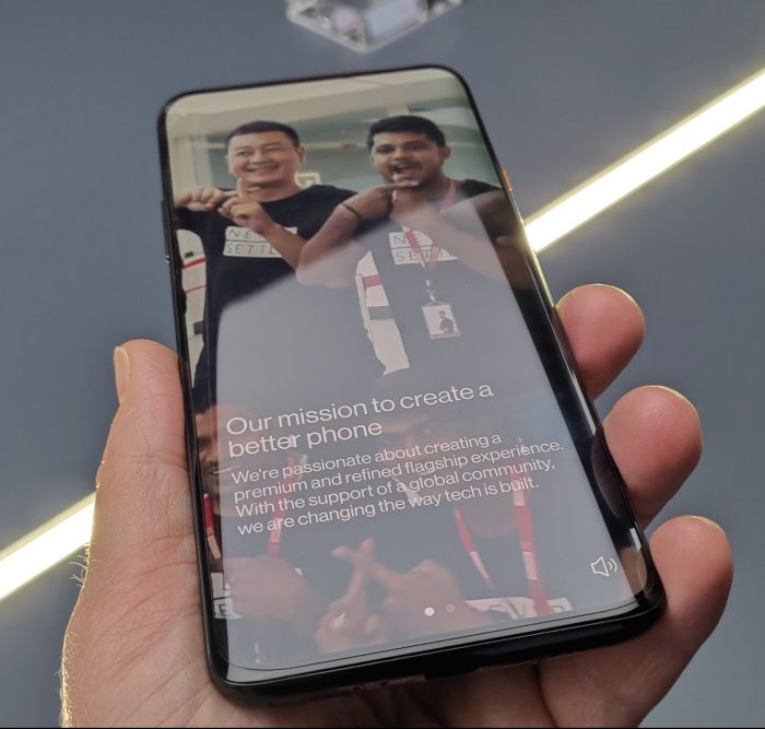 OnePlus 7T Pro and the 7T Pro McLaren   Up close and personal