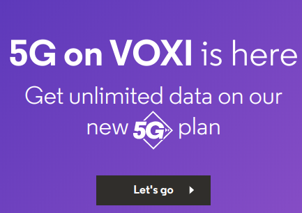 5G Coming to VOXI too