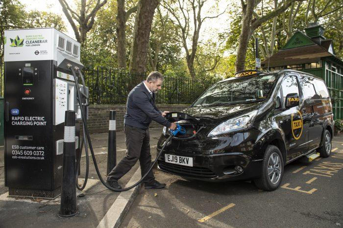 Dynamo   Grab yourself a fully electric cab.