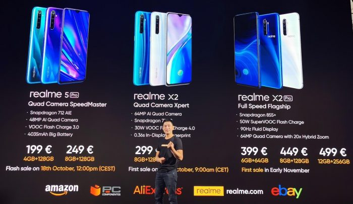 Realme   Surely those are sale prices, yeah?