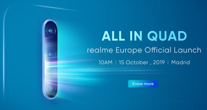 Live   Realme lands in Europe