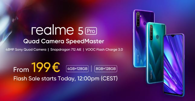 Realme   Flash sale starts today.