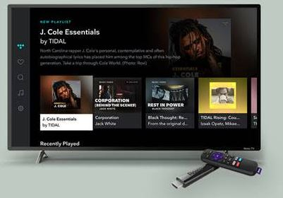 Roku boxes now get TIDAL