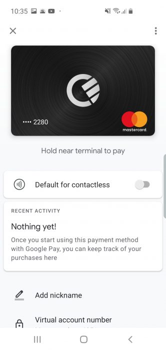 Curve now integrates with Google Pay