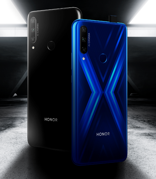 """Honor 9X now available in the UK """"width ="""" 532 """"height ="""" 610 """"title ="""" Honor 9X now available in the UK """"/></p> <p>With a giant 6.59-inch FullView display (see ma, no notch!) And a resolution of 2340 x 1080p (391 ppi), it has a screen-to-body ratio of 91% on the back is a brilliant 48 megapixel camera (1: 1.8, 1.6-pixel 4-in-1 light fusion, AIS Super Night mode and video stabilization) and a second 8-megapixel wide-angle camera (1: 2.4) It also has a 16 megapixel pop-up selfie shooter.</p> <p>Dual-band WiFi is here, as are GPS, Bluetooth 4.2 and a 4,000 mAh battery, USB-C-Charger … However, the technical data does not show NFC for your Tappy-Tappy payments, we'll check that, but you'll get a 3.5mm audio jack.</p> <p><img src="""