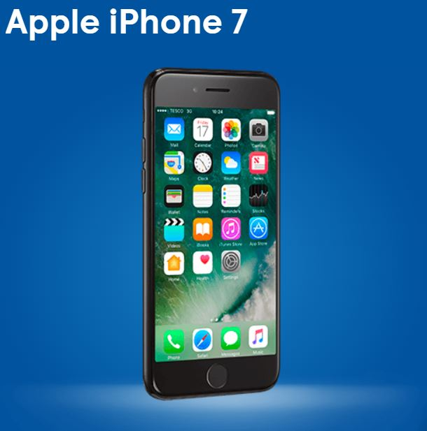 Black Friday. Cheap iPhone 7 at Tesco Mobile. Ideal gift