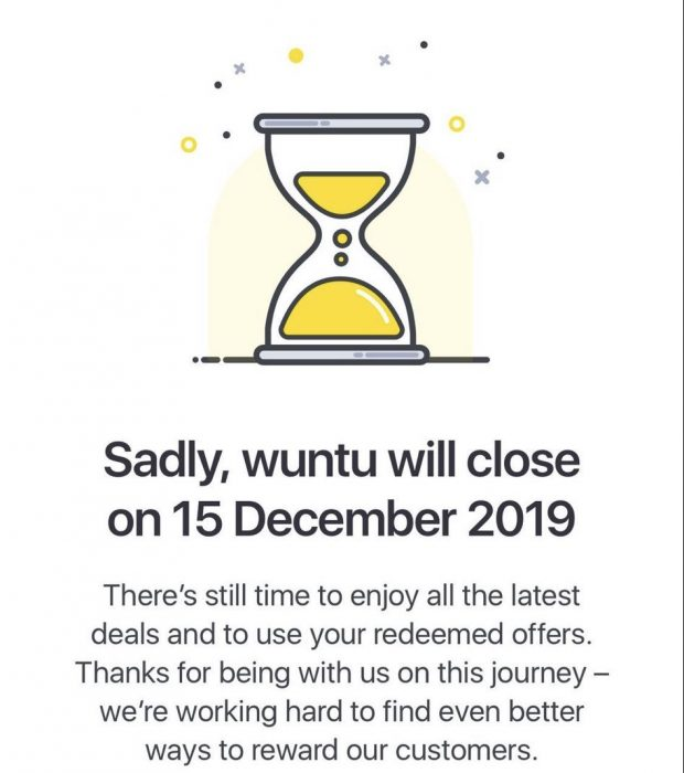 Well, that didnt last long. Wuntu is through. No more Three rewards.