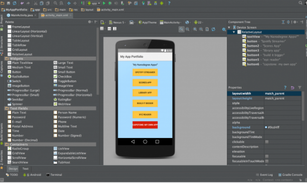 Getting started with Android Application Development