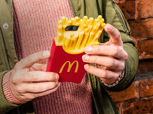 Order McDonalds and have it dropped to your table. All via your phone.