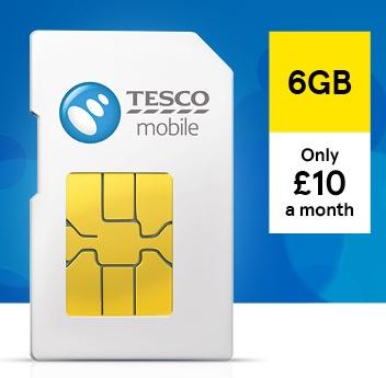 Tesco Mobile Flash deals