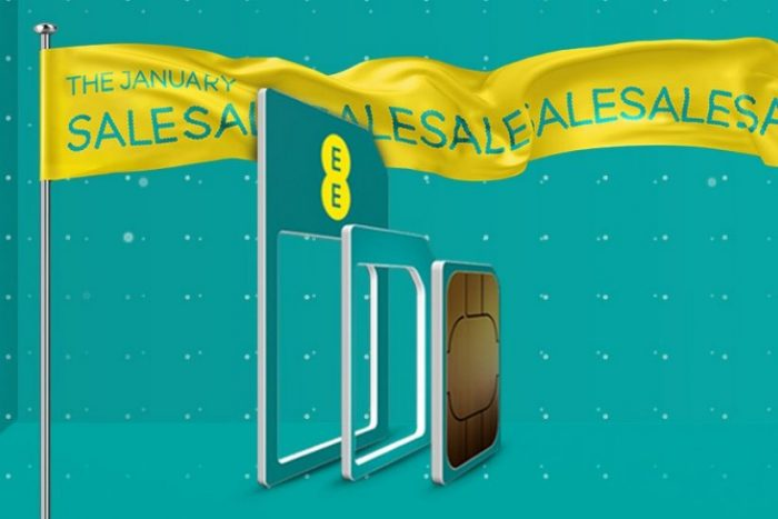 EE January sales offers kick off