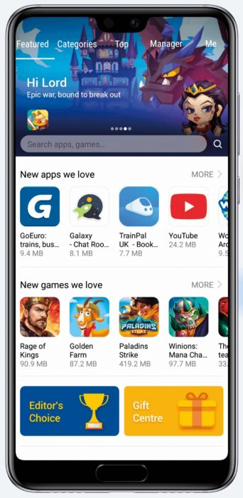 Huawei   Who needs Google Play?