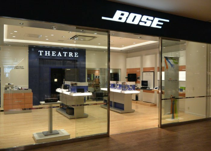 Bose closing all European and US stores