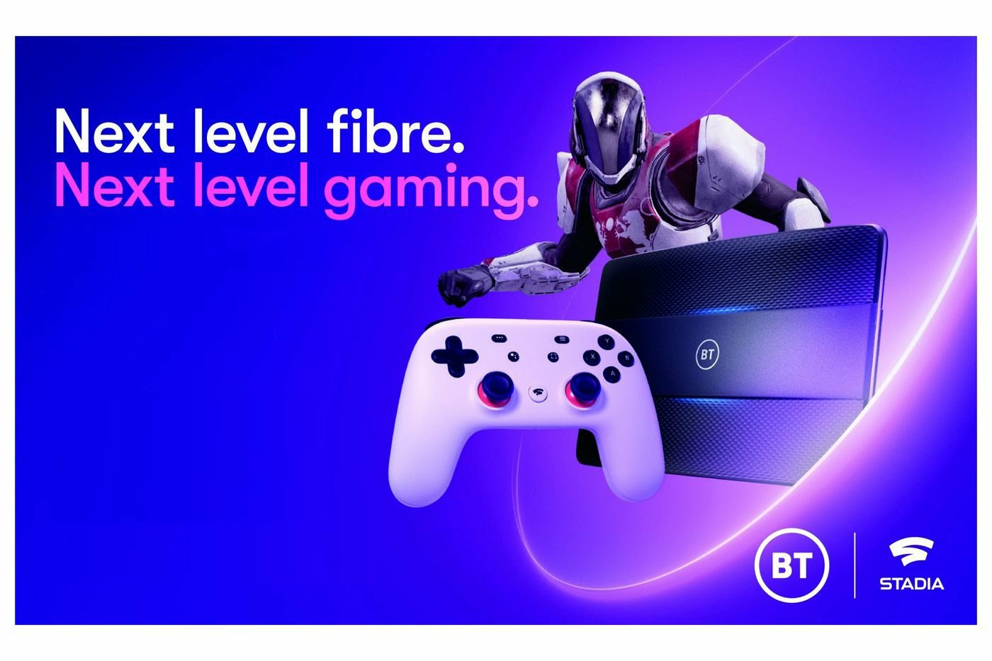 BT Broadband packages now come with Google Stadia