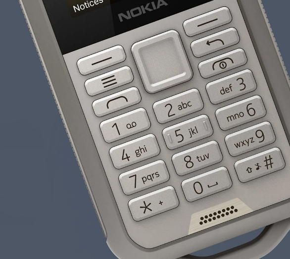 The Nokia 800 Tough. A durable, rugged phone designed for hard work.