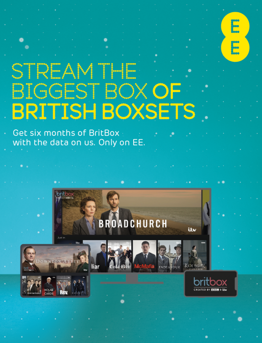 EE become an exclusive BritBox partner