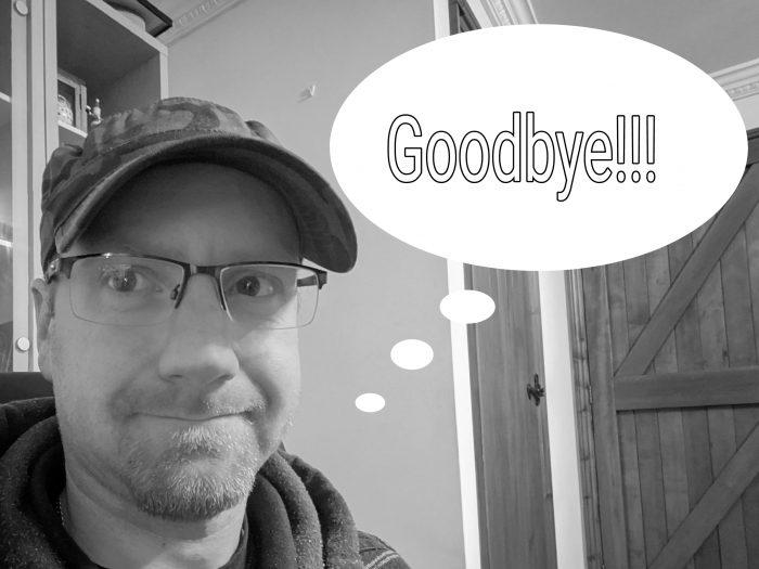 Farewell dear reader.... for now