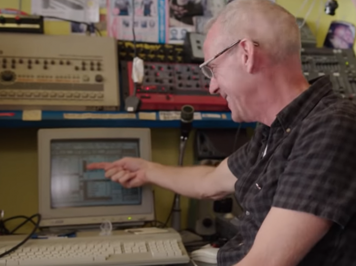 Fatboy Slim   When hits were stored on a floppy disk and created with an Atari ST