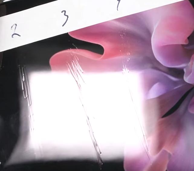 Samsung Galaxy Z Flip   Is that flexible glass really glass?