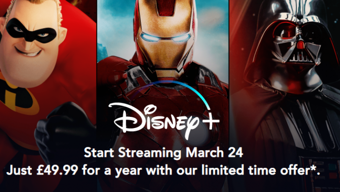 Disney+ launching in the UK next month. The Mandalorian might be drip fed