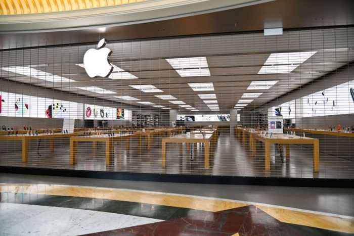 Apple closes all stores outside mainland China