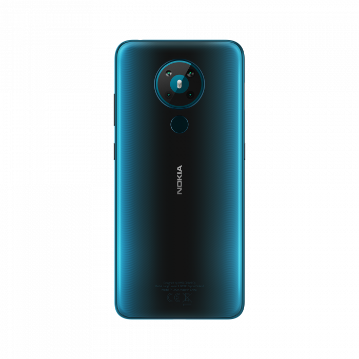 Nokia 5.3 Rational Cyan Blue Back PNG