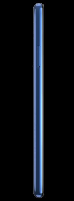 moto g8 ROW Neon Blue LEFT SIDE