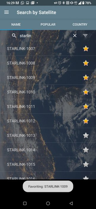 Wanna see the Starlink satellites? Try these apps.