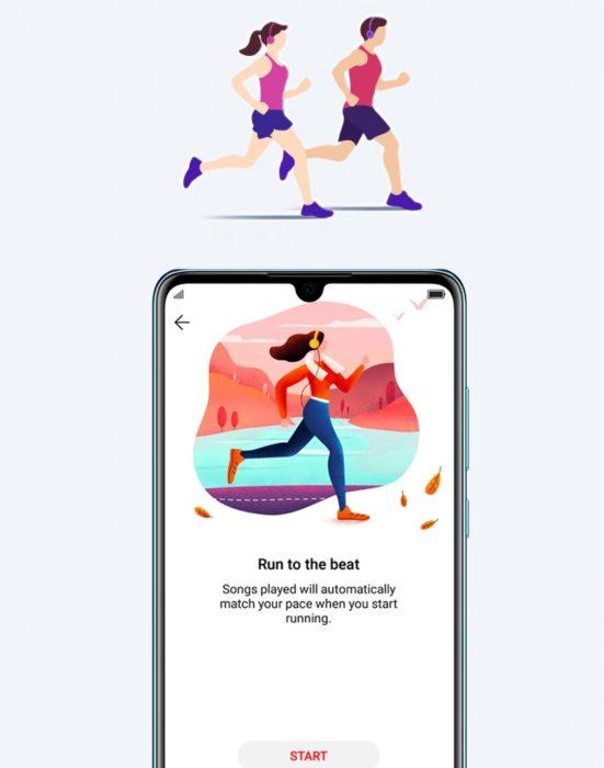 Huawei takes on Spotify