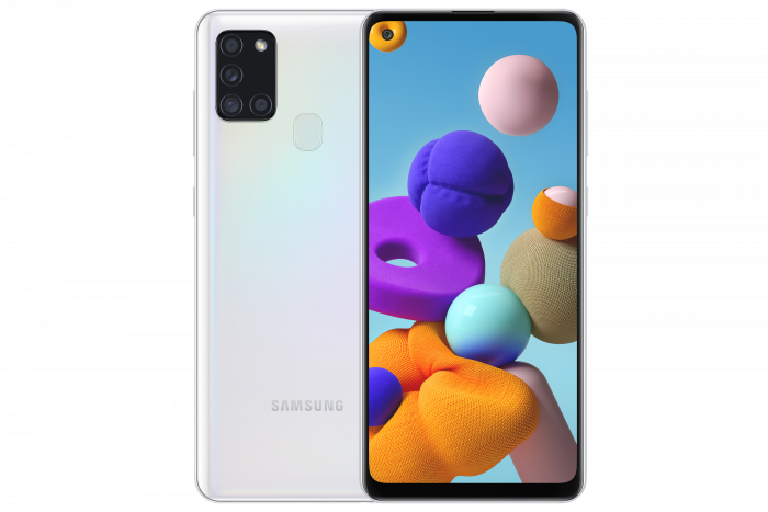 Samsung A21s heading to giffgaff