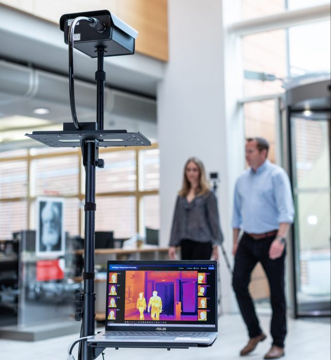 Vodafone launch an IOT Thermal Camera